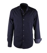 Vanguard Overhemd Blauw Ruit Ivy