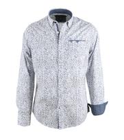 Vanguard Overhemd Halfmile Branch Wit