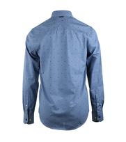 Detail Vanguard Overhemd Paperbark Blauw