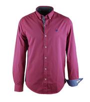 Vanguard Overhemd Rood Ruit