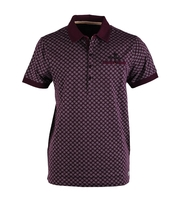 Vanguard Polo Bordeaux Dessin