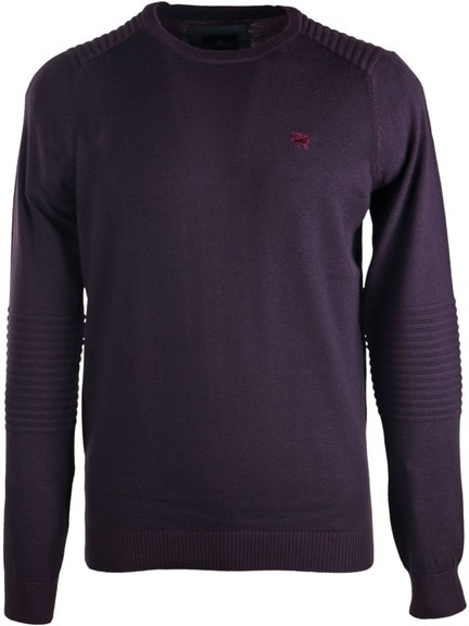Vanguard Pullover Ronde Hals Paars