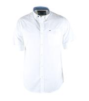 Vanguard Shirt Wit Korte Mouw