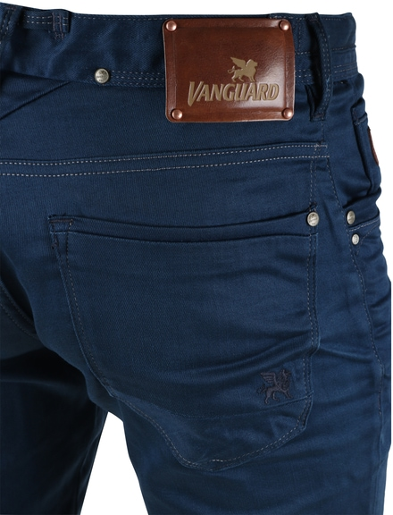 Detail Vanguard V8 Racer Jeans Used Blue