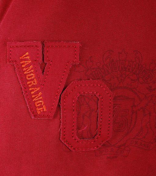 Detail VanOrange Vest VO Donker Rood 01