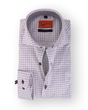 Wit Ruit Overhemd Slim Fit 113-05