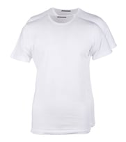 Wit T-Shirt 2Pack O-neck