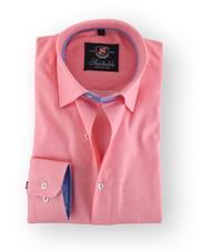 Zalmrood Overhemd 105-05