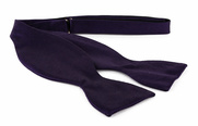 Self Tie Bow Tie Dark Purple F62