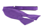 Self Tie Bow Tie Purple F30