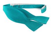 Self Tie Bow Tie Smaragd F67