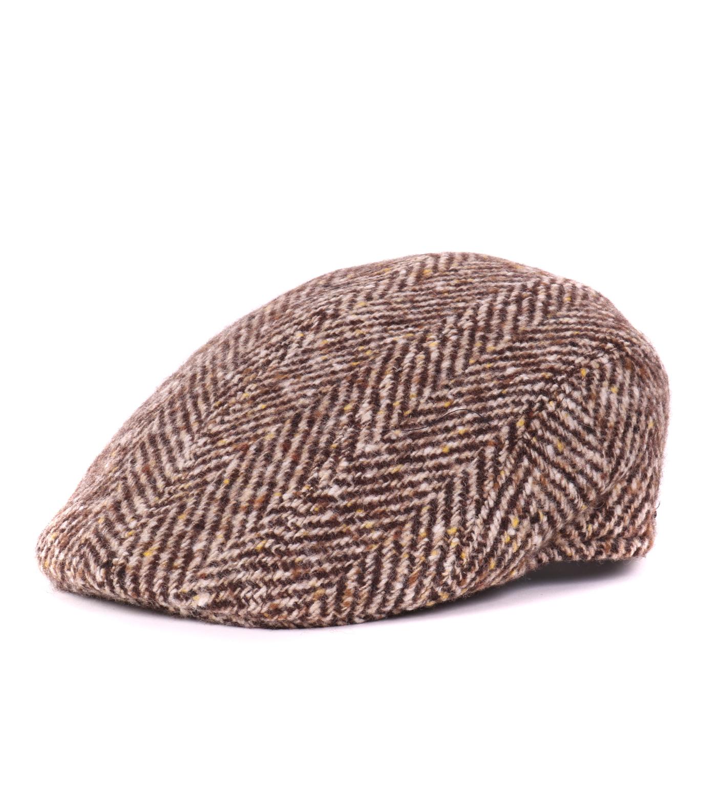 Beige Flat Hat Wool 57021 06 Paco Brown 934d615fc8e