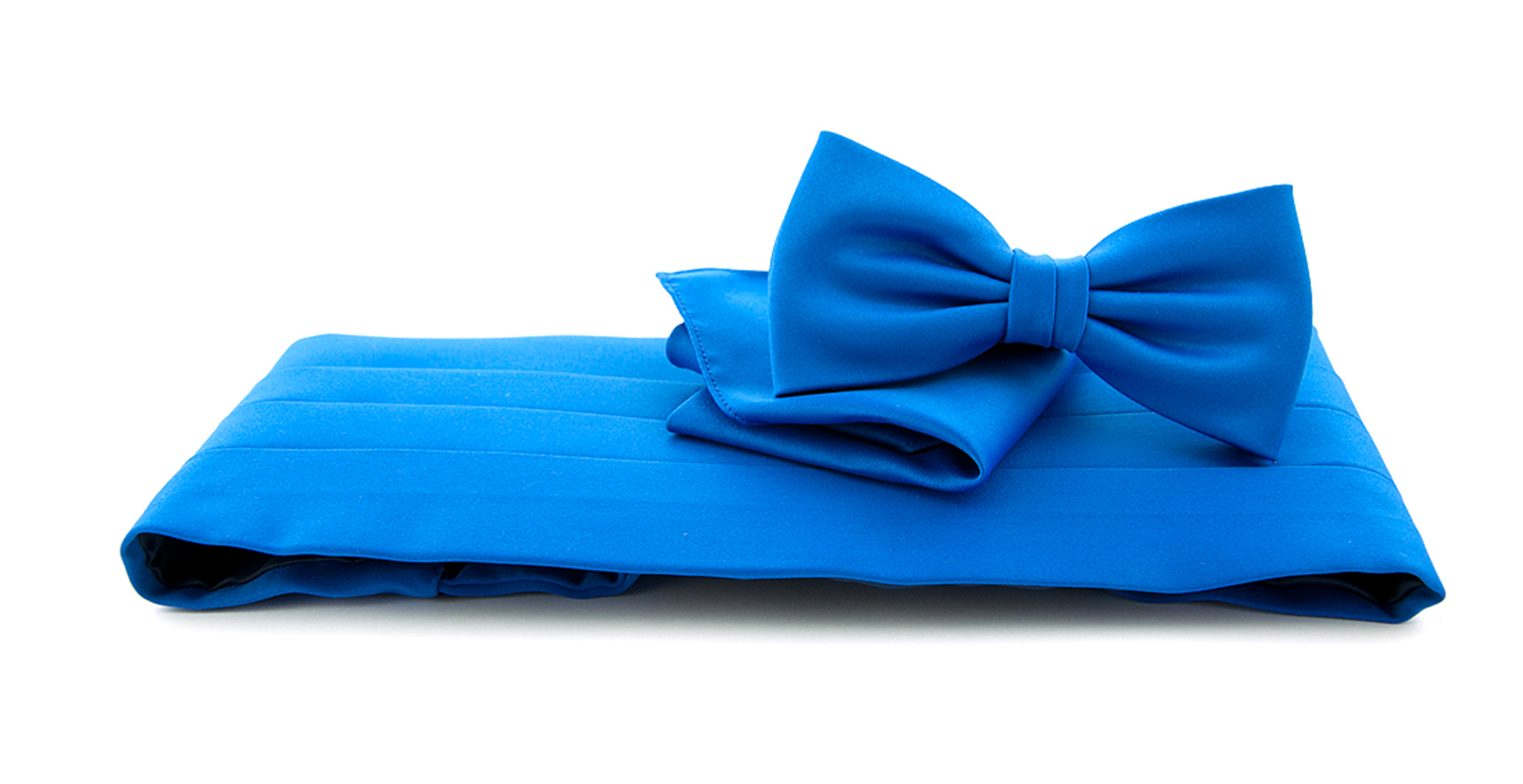 Cumberband + Bow Tie Royal Blue