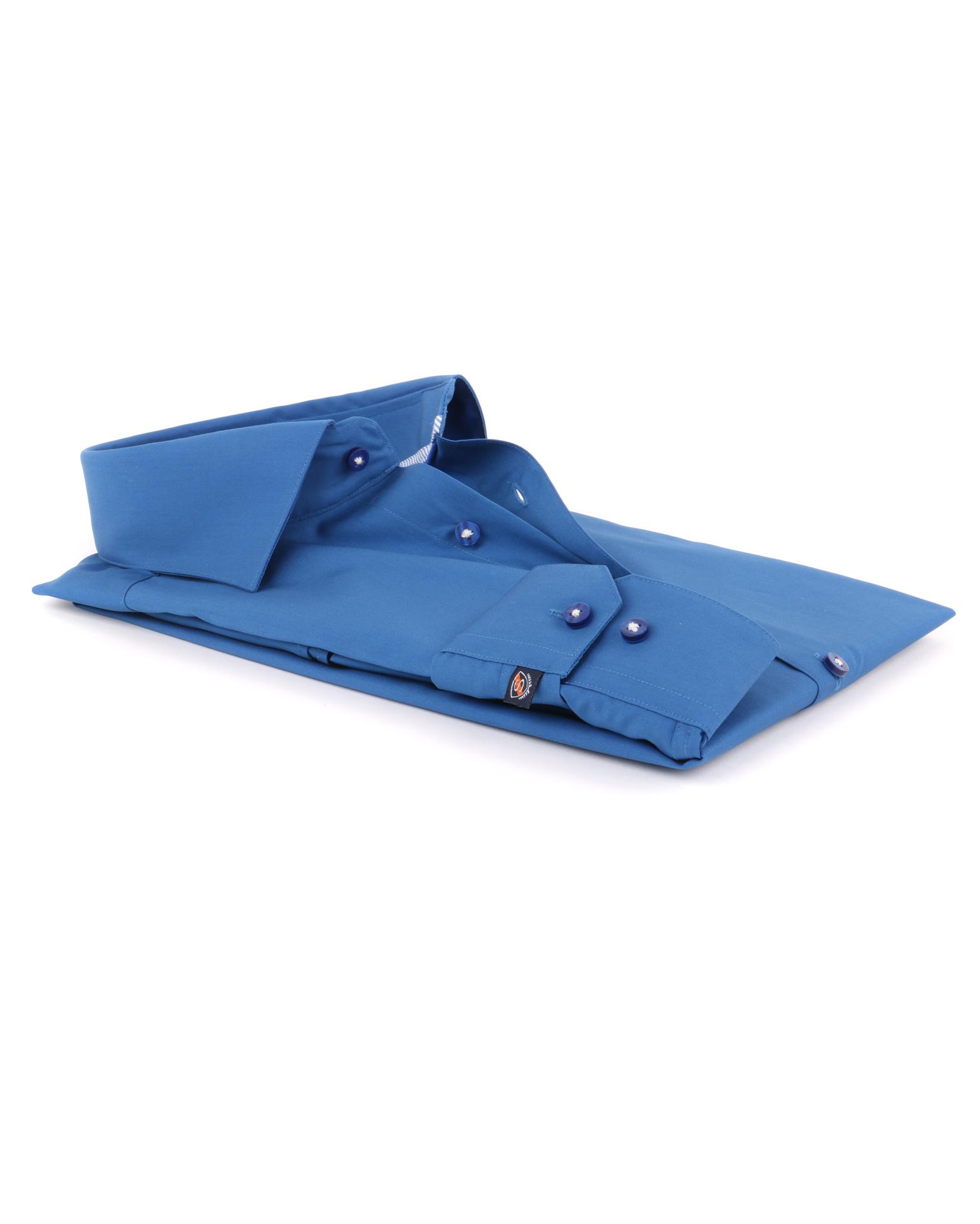 Donkerblauw Overhemd 51 12