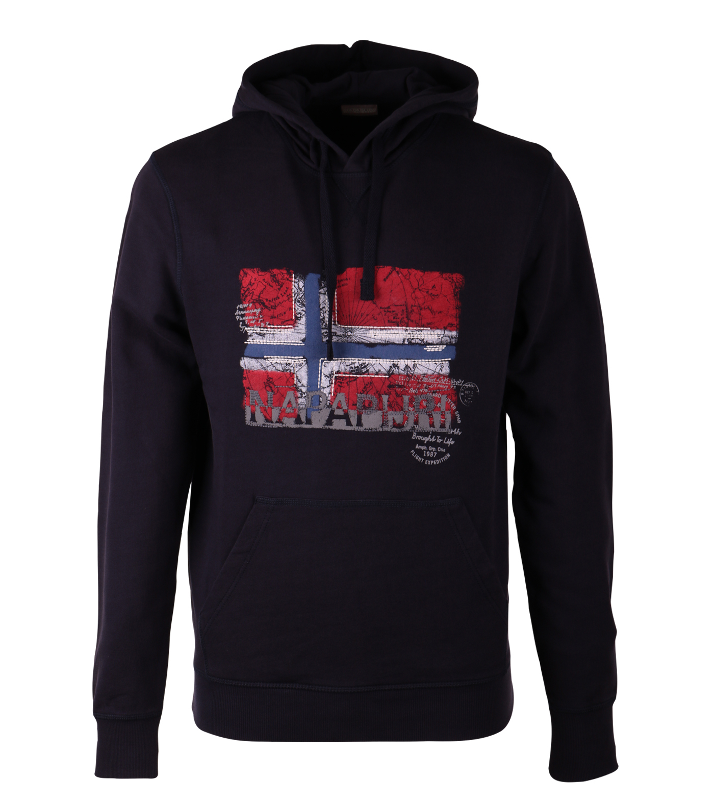 Napapijri boyk hoodie donkerblauw for Designhotel maastricht comfort xl