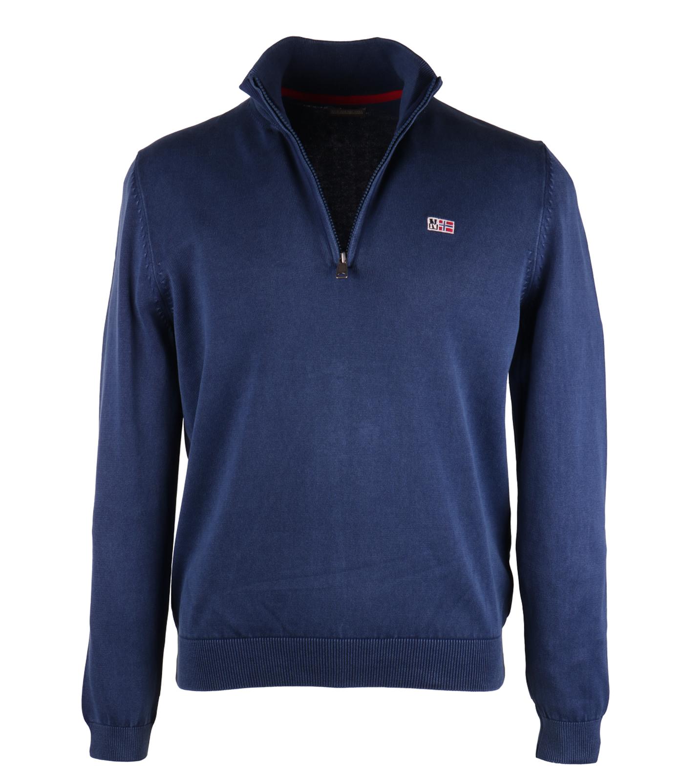 Napapijri pull zipper davesh indigo blauw for Designhotel maastricht comfort xl