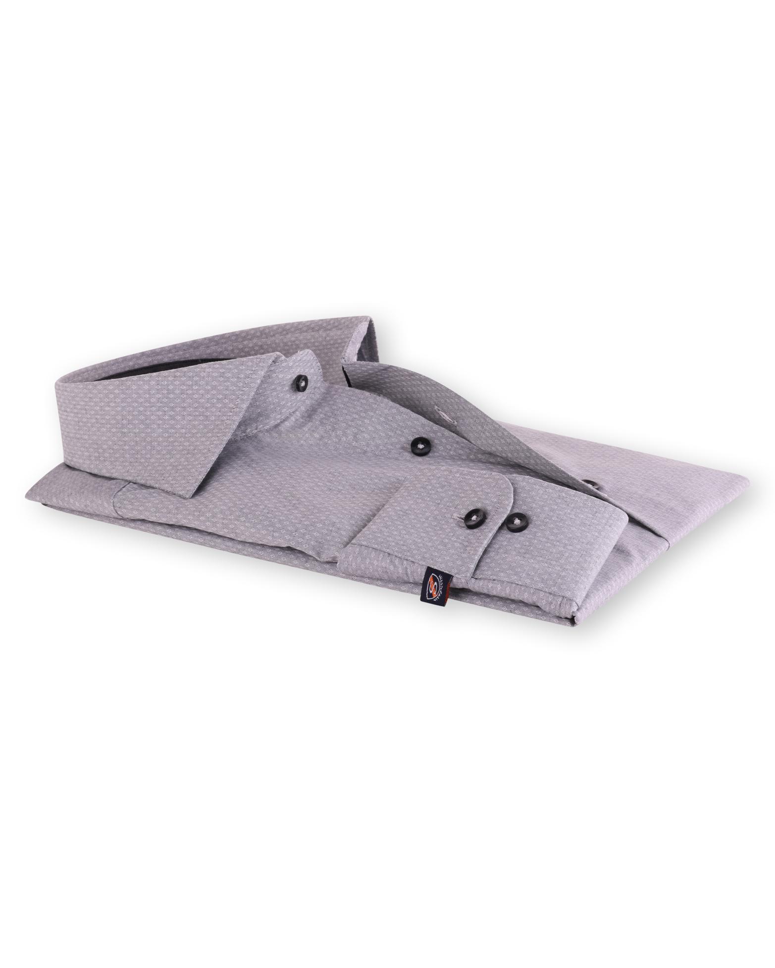 Sleeve 7 Overhemd Cutaway Grijs 120 6