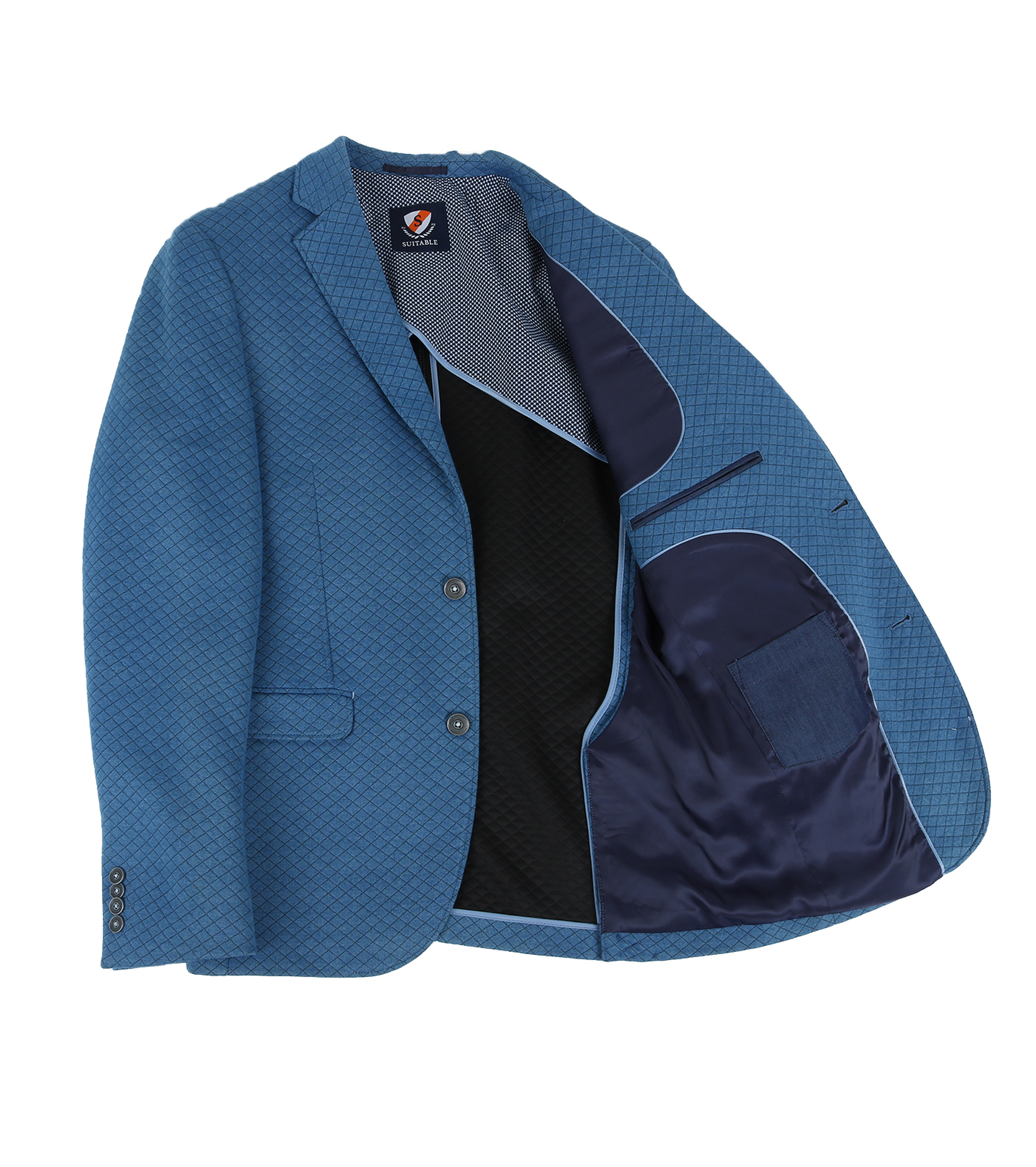 Suitable Blazer Holar Blauw foto 4