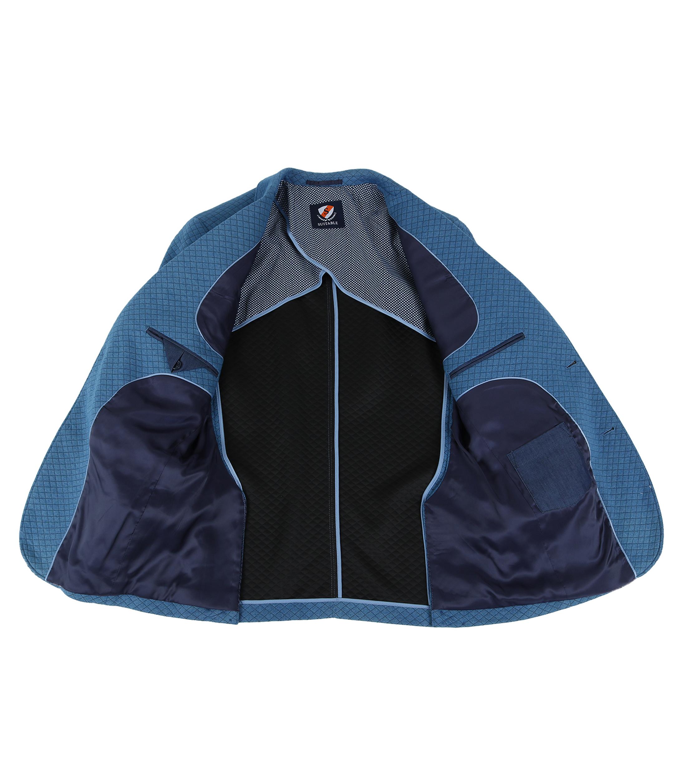 Suitable Blazer Holar Blauw foto 5