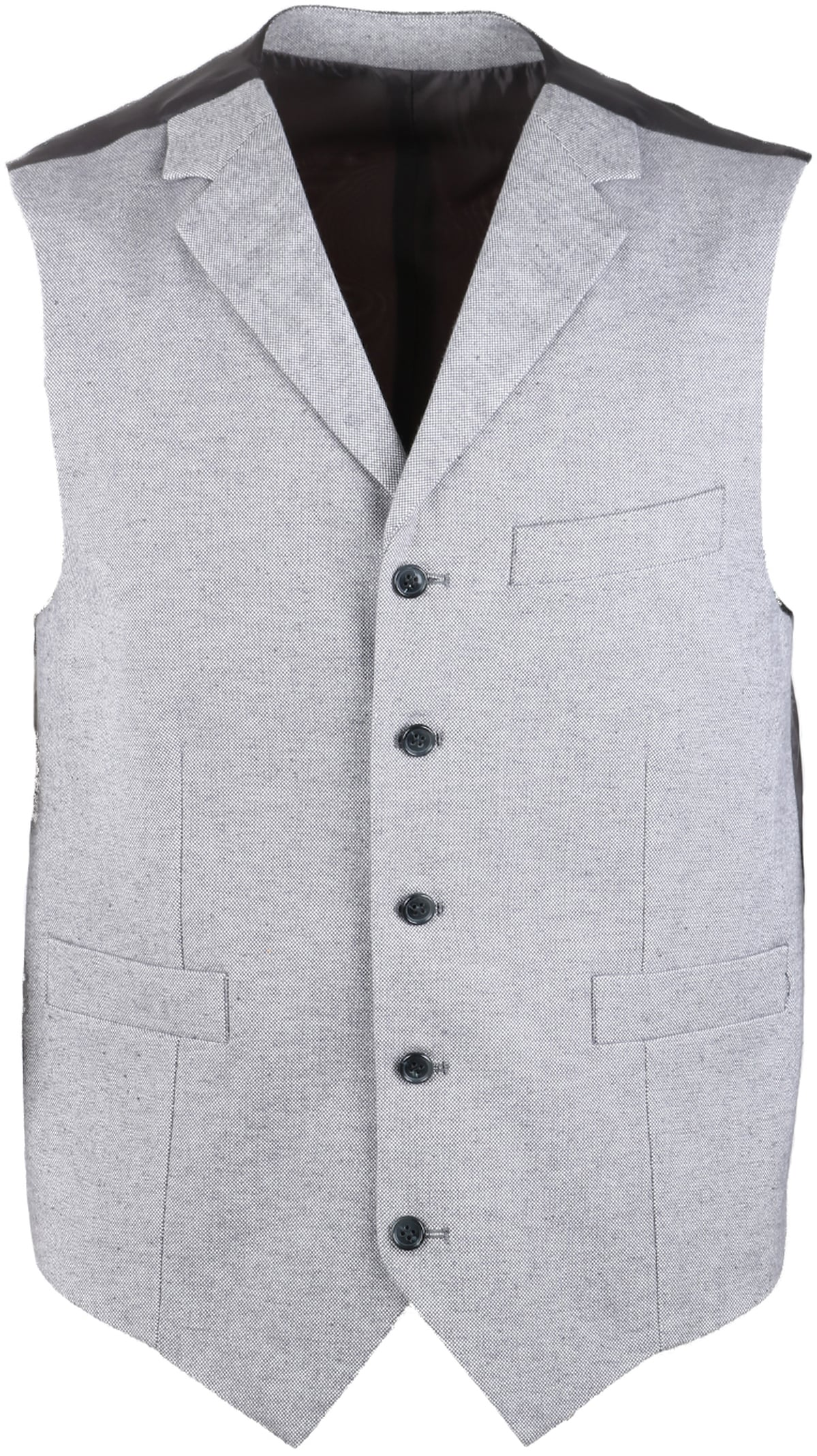 Suitable Gilet Grijs Oxford foto 0