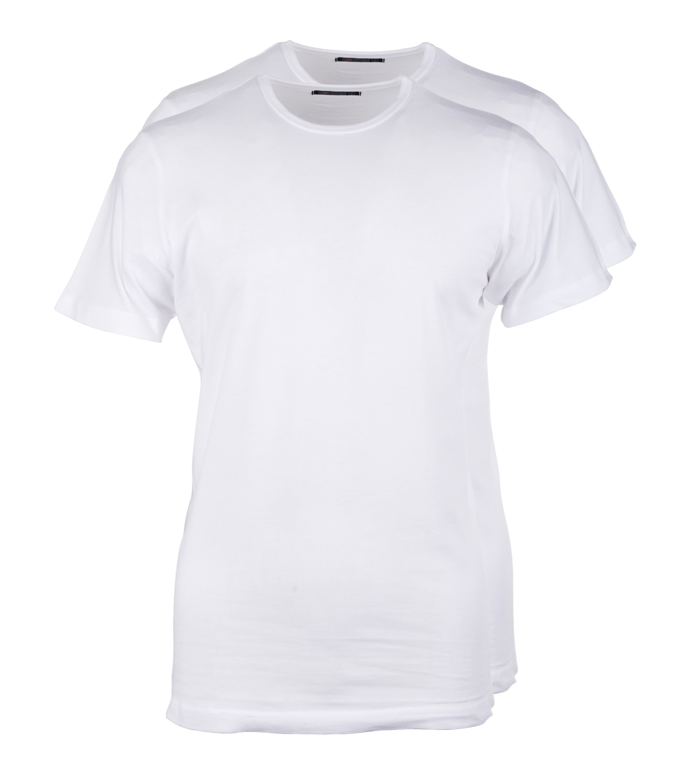 Wit t shirt 2pack o neck for Designhotel maastricht comfort xl