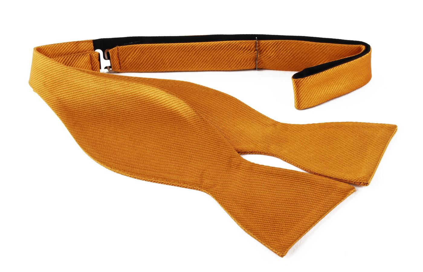 Self Tie Bow Tie Gold F13 foto 0