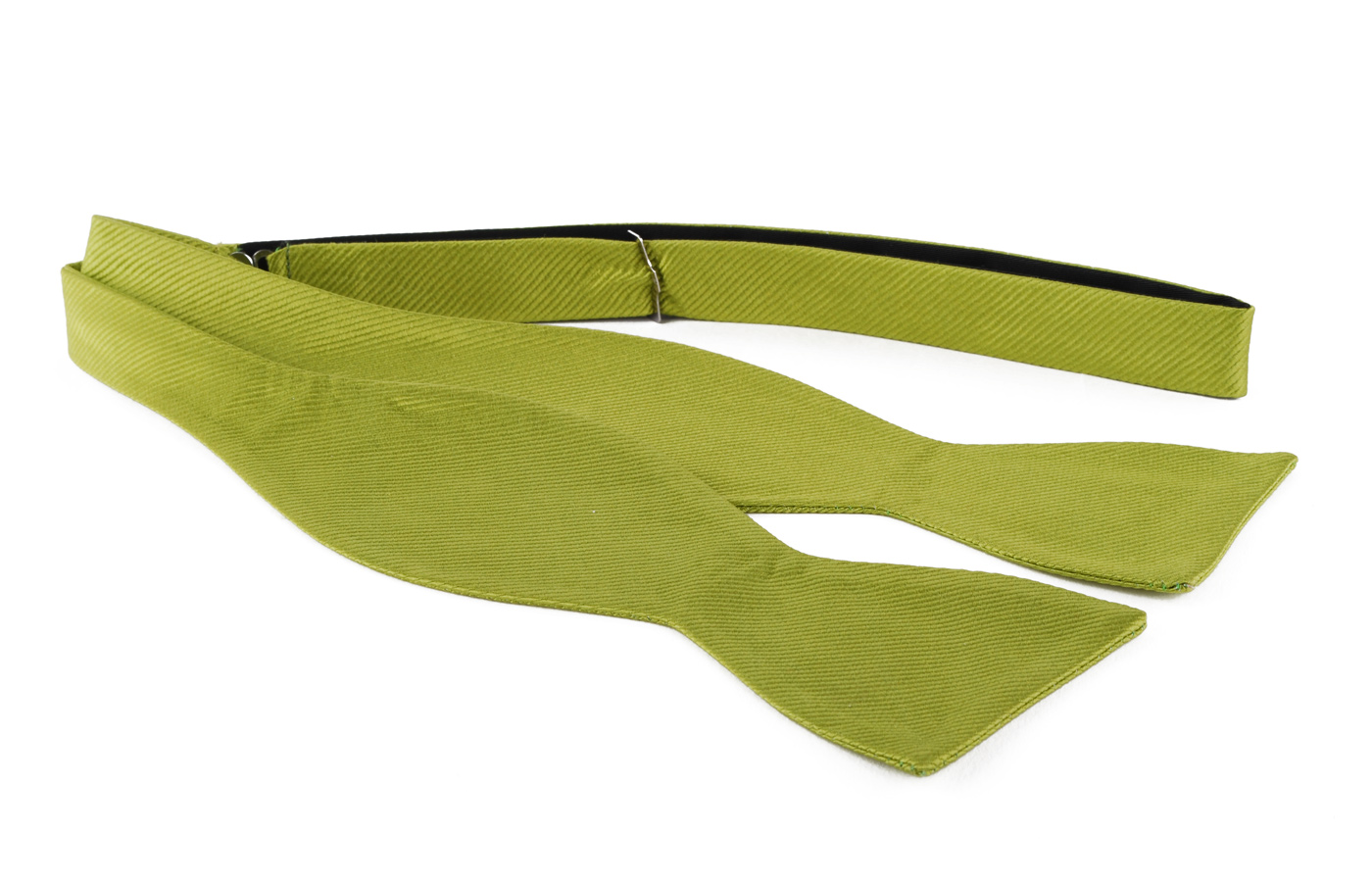 Self Tie Bow Tie Lime Green F04 photo 0