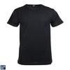 Alan Red Derby O-Hals T-Shirt Zwart (1Pack)