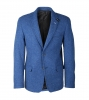 Blauw Colbert Suitable Tweed