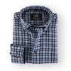 Blauw Linnen Overhemd 105-08