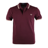 Fred Perry Polo Mahogany Slim Fit A55