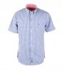 McGregor Overhemd Donkerblauw Ruitje