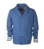 Suitable Cardigan Shawlkraag Blue