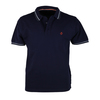 Suitable Polo Tipped Navy