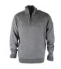 Suitable Pull Zipper Grey