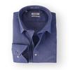 Van Gils Overhemd Dark Blue Oxford