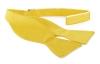 Self Tie Bow Tie Yellow F70
