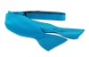 Selbstbinder Fliege Seide Aquablau F24