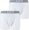 Alan Red Boxershort Wit 2Pack