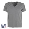 Alan Red Verner T-shirt Diepe V-Hals Mouse (1Pack)