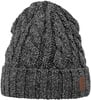 Barts Twister Turnup Beanie Dark Grey