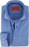 Blauw Fil a Fil Overhemd 60