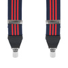 Bretel Navy Red Stripes