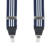 Bretellen Navy White Stripes