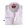 Dress Slim Fit White Twill