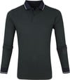 Dstrezzed Polo Shirt Graphic Pique Dark Green