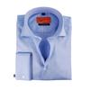 Dubbelmanchet Overhemd Blue Twill