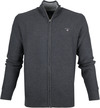 Gant Cardigan Dark Grey