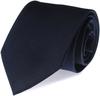Krawatte Seide Marineblau Uni F35