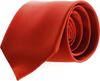 Krawatte Seide Ziegelrot F14